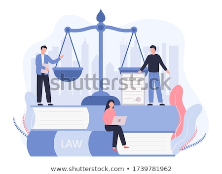 a law book with a gavel   patent law stock photo © zerbor