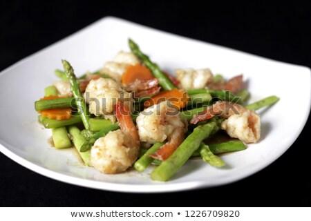 Thais eten bamboe diner koken Stockfoto © eddows_arunothai