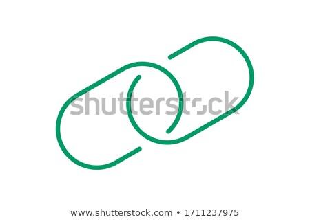 安全 · リンク · 緑 · ベクトル · アイコン · デザイン - ストックフォト © rizwanali3d