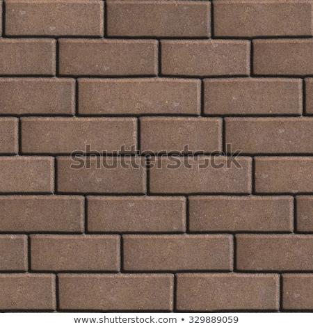 Beton kahverengi form farklı değer Stok fotoğraf © tashatuvango
