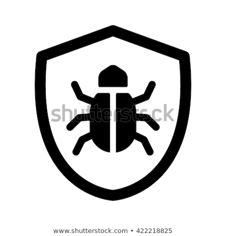 Cyber Bug Icon Stock photo © kiddaikiddee
