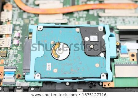 Computer hadr disk close up Stock photo © stevanovicigor