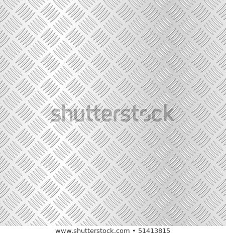 diamond checker plate metal texture stock photo © stevanovicigor