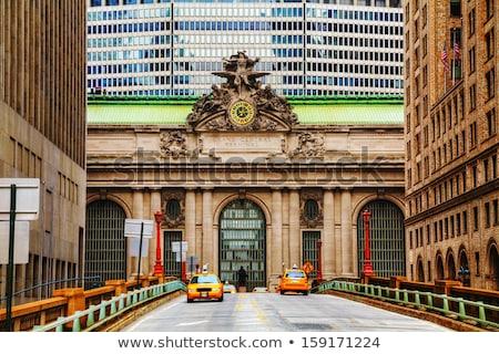 Central velho entrada Nova Iorque rua urbano Foto stock © AndreyKr