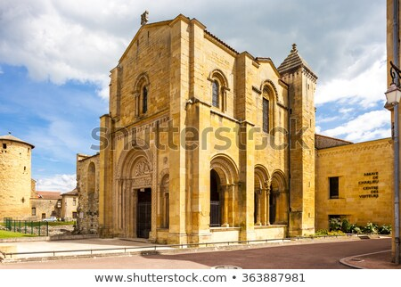 Manastır bölüm Fransa Bina mimari Avrupa Stok fotoğraf © phbcz