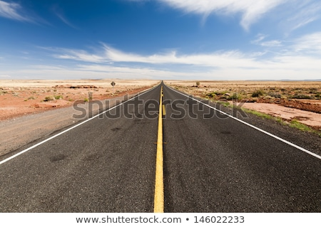 Long highway in  Utah desert Stock photo © CaptureLight