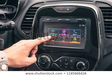 車 · マルチメディア · プレーヤー · 浅い · 音楽 · 技術 - ストックフォト © Phantom1311