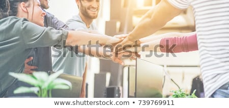 People strenght and unity Stock photo © zurijeta