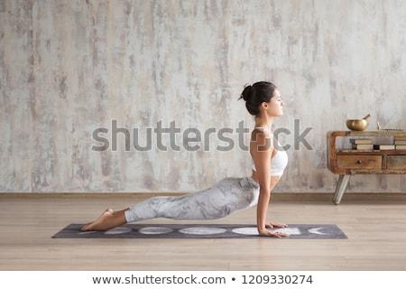 The Upward Facing Dog Yoga Pose Stock photo © kentoh