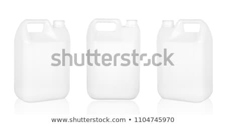 Jerrycan on white Stock photo © pakete