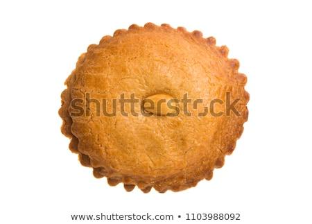 オランダ語 アーモンド クッキー プレート デザート ケーキ ストックフォト © Digifoodstock
