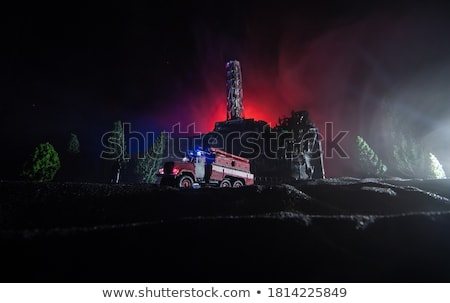 A fire station building Stock photo © bluering