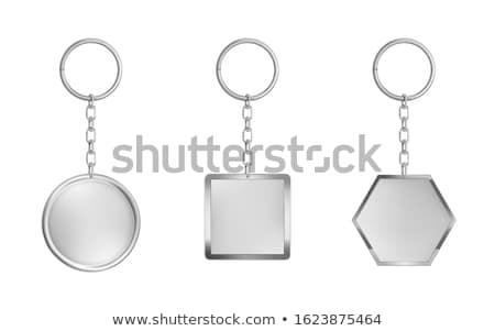 пусто стали изолированный белый фон пространстве Сток-фото © coprid
