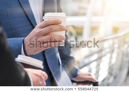 бумаги · кофе · Кубок · дизайна · продовольствие - Сток-фото © sdCrea