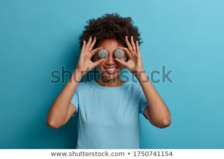 冗談 · 子 · 子供 · 笑顔 · クロワッサン - ストックフォト © milanmarkovic78