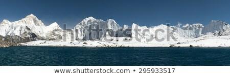 Kongma La Pass Panorama Stock photo © pancaketom