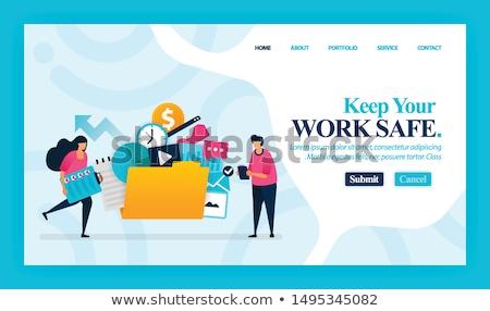 negócio · administrador · fora · escritório · situação · secretária - foto stock © stevanovicigor