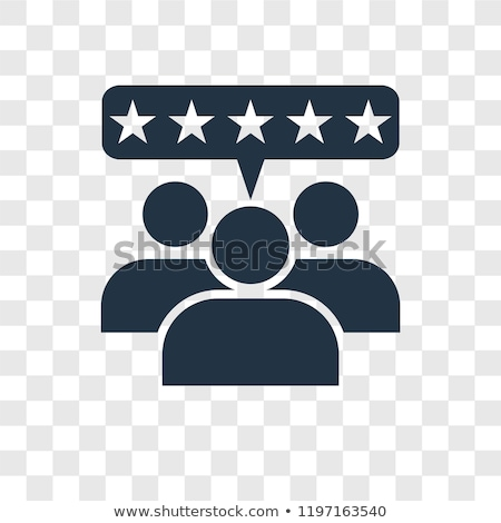 client satisfaction icon flat design stock photo © wad