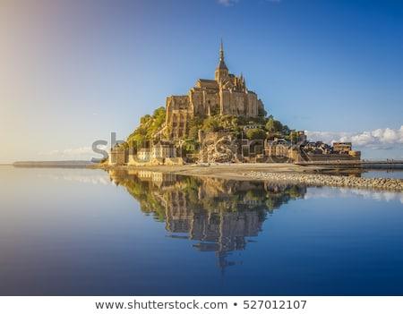 Mont Saint-Michel, France, on sunset Stock photo © Xantana