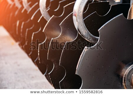New tractor disc harrow Stock photo © stevanovicigor