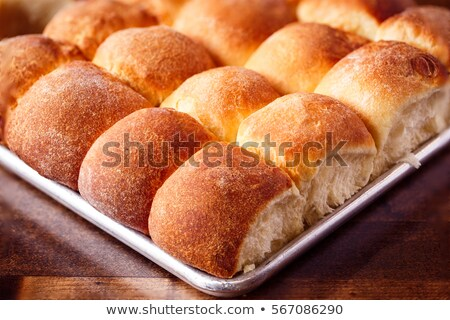 Fresh Baked Dinner Rolls Bread Stock photo © StephanieFrey