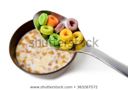 Froot loops in bowl Stock photo © wavebreak_media