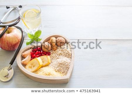 Koleszterin étel diagram illusztráció emberi máj Stock fotó © izakowski