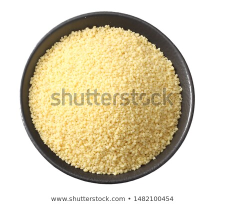 pile of raw couscous Stock photo © Digifoodstock