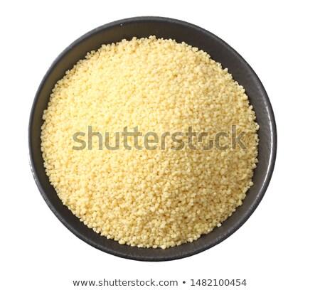 Crudo cuscús tabla de cortar alimentos Foto stock © Digifoodstock