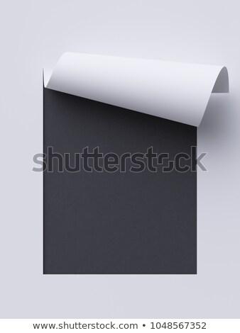 Black Chalkboard with Business Communications. 3D Rendering. Stock photo © tashatuvango