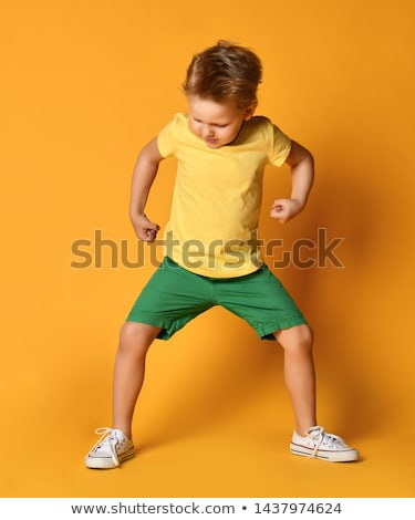 Young boy acting like a monster Stock photo © IS2