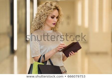 Bolso adolescente financiar bancario Foto stock © monkey_business