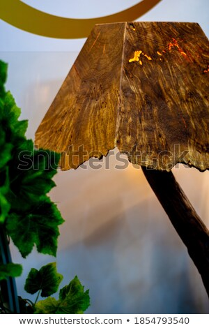 Table lamp with shadow and glare. Stock photo © rwgusev