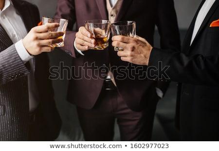 飲料 コニャック 肖像 美人 ガラス 顔 ストックフォト © Pilgrimego