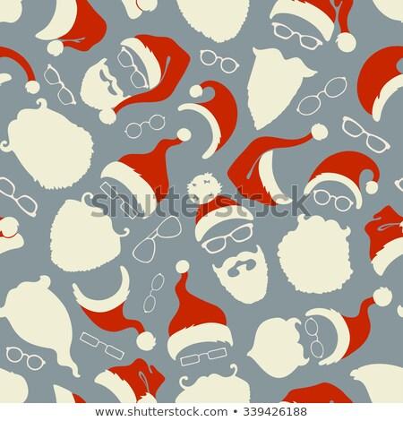 люди мужчин усы костюм Сток-фото © popaukropa