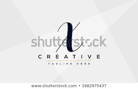 lettre · signature · logo · symbole · design · fond - photo stock © meisuseno