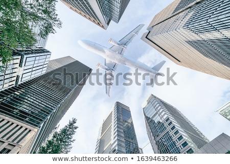 Cityscape Tokyo şehir seyahat gökdelen ufuk Stok fotoğraf © IS2