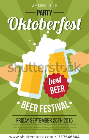 oktoberfest · bière · festival · design · style · vecteur - photo stock © robuart