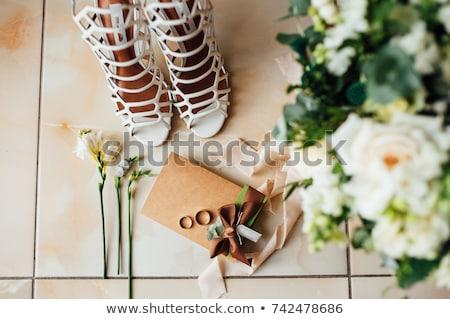 Kouseband ander details bruiloft Stockfoto © ruslanshramko