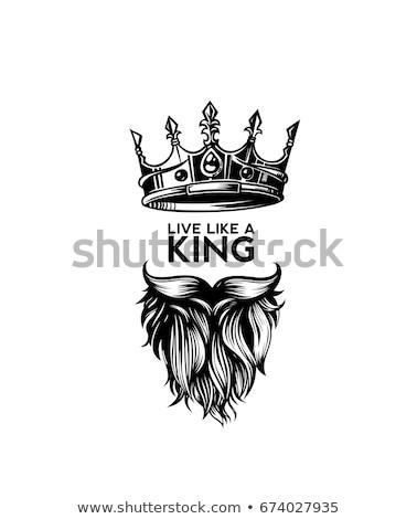 черный · борода · иллюстрация · модный · человека · моде - Сток-фото © Blue_daemon