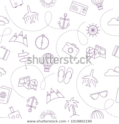travelling background vector illustration stock photo © solarseven