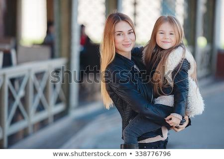 ファッション · 家族 · スタイリッシュ · 母親 · 子 · 着用 - ストックフォト © ElenaBatkova