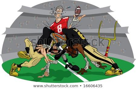 American Football Rush #8 Stock photo © robStock