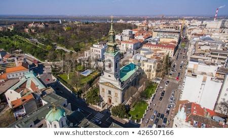 собора Белград Церкви православный христианской центр Сток-фото © borisb17