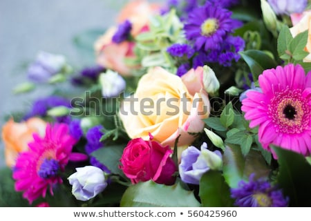 Colored funeral pattern Stock photo © netkov1