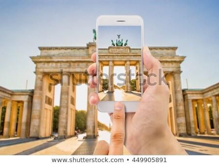 ブランデンブルグ門 · ベルリン · 市 · ゲート · 遅い · 18世紀 - ストックフォト © nito