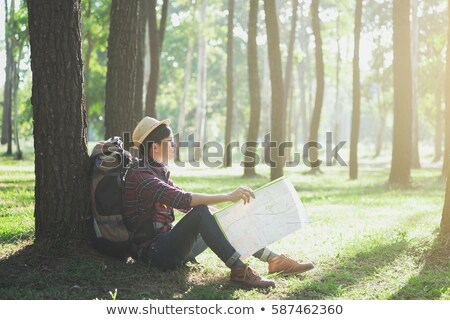 relax adventure and lifestyle hiking travel idea concept stock photo © ijeab