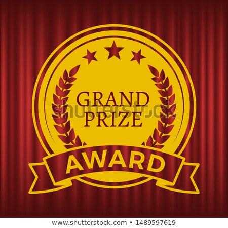 złota · star · zwycięzca · projektu · wektora - zdjęcia stock © robuart