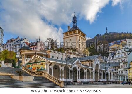Market Colonnade, Karlovy Vary Stock photo © borisb17
