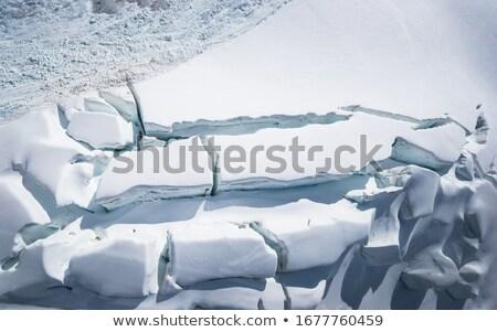 Antena Fotografia górę widoku zmiany klimatyczne globalne ocieplenie Zdjęcia stock © Maridav